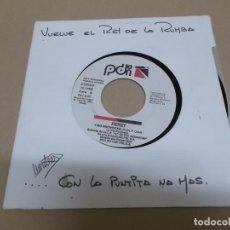 Discos de vinilo: PERET (SINGLE) Y NO PROVOCAN AÑO 1991 - PROMOCIONAL. Lote 218252441
