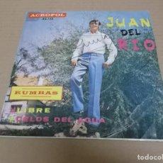 Discos de vinilo: JUAN DEL RIO (SINGLE) LIBRE AÑO 1971. Lote 218253047
