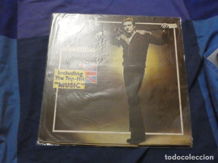 EXPROV LP JOHN MILES REBEL ALEMANIA 1976 BUEN ESTADO SOBRETODO DE VINILO (Música - Discos - LP Vinilo - Pop - Rock - Extranjero de los 70)