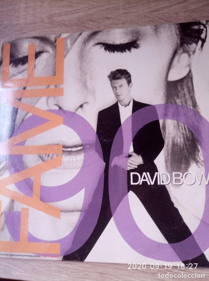 DAVID BOWIE FAME MAXI SINGLE VINILO ED ESPAÑA 1990 BUEN ESTADO (Música - Discos de Vinilo - Maxi Singles - Pop - Rock - New Wave Extranjero de los 80)