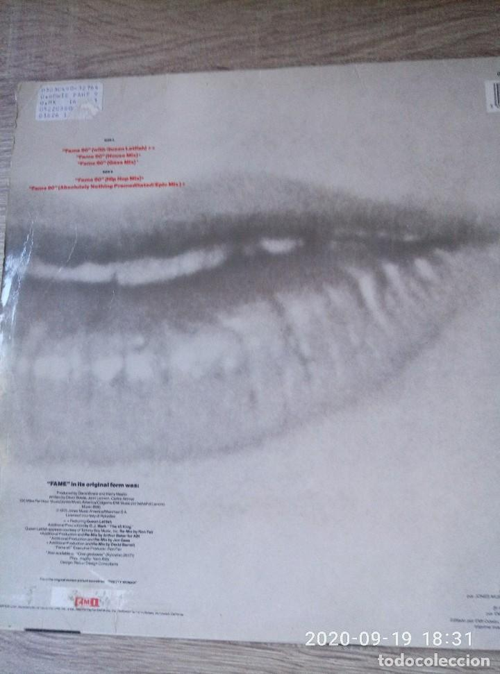 Discos de vinilo: David Bowie fame maxi single vinilo ed España 1990 buen estado - Foto 2 - 218258727