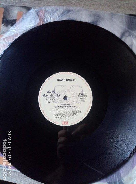 Discos de vinilo: David Bowie fame maxi single vinilo ed España 1990 buen estado - Foto 3 - 218258727
