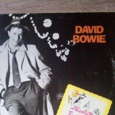 Discos de vinilo: DAVID BOWIE ABSOLUTE BEGINNERS MAXI SINGLE VINILO ED ESPAÑA 1986 UN POCO DETERIORADO. VER FOTOS. Lote 218258747