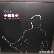 Discos de vinilo: ALEJANDRO SANZ + ES + EL CONCIERTO * BOX DELUXE DVD+CD+2 LPS+LIBRETO+RÉPLICA PASE * CAJA PRECINTADA. Lote 232488185
