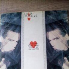 Discos de vinilo: DEAD OR ALIVE MY HEART GOES BANG MAXI SINGLE VINILO ED UK 1985 BUEN ESTADO. Lote 218258797