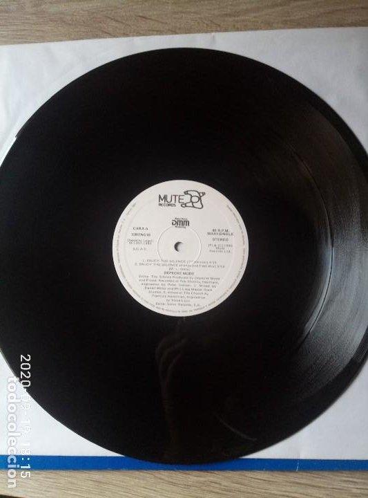 Discos de vinilo: Depeche Mode enjoy the silence maxi single vinilo ed españa buen estado despegado en contraportada. - Foto 4 - 218258841