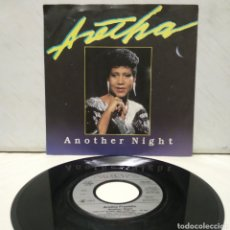 Discos de vinilo: ARETHA FRANKLIN - ANOTHER NIGHT 1986 ED HOLANDESA. Lote 218259141