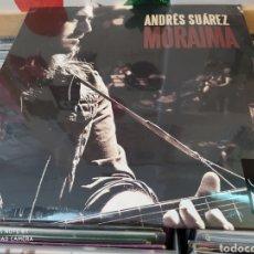 Discos de vinilo: ANDRES SUAREZ. MORAIMA. DOBLE LP VINILO PRECINTADO. INCLUYE CD.. Lote 218268468