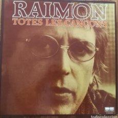 Discos de vinilo: RAIMON TOTES LES CANÇONS 10 LP. Lote 218268506