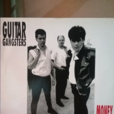 Discos de vinilo: GUITARS GANSTERS ENGLISH VICE RECORDS 1991 PUNK. NUEVO. Lote 218270895