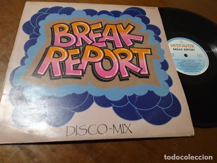 VARIOS – BREAK REPORT-HISPAVOX – 160 249, CAT RECORD – 160 249-ESPAÑA-1984 (Música - Discos - LP Vinilo - Techno, Trance y House)