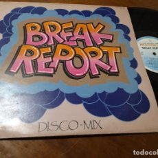 Discos de vinilo: VARIOS ‎– BREAK REPORT-HISPAVOX ‎– 160 249, CAT RECORD ‎– 160 249-ESPAÑA-1984. Lote 218271550