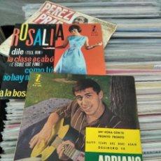 Discos de vinilo: EP UN HORA CON TE ADRIANO CELENTANO ZAFIRO ESPAÑA 1960 MUY BUEN ESTADO. Lote 218272890