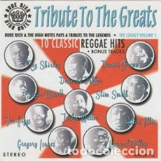 Discos de vinilo: RUDE RICH & THE HIGH NOTES - TRIBUTE TO THE GREATS. Lote 218275792