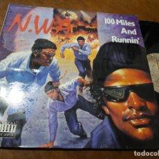 Discos de vinilo: N.W.A ?– 100 MILES AND RUNNIN'-BMG ARIOLA S.A. ?– 613795 (3A)-ESPAÑA-MAXI-1990-. Lote 218278577