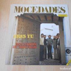 Disques de vinyle: MOCEDADES - EUROVISION 73 -, SG, ERES TÚ + 1, AÑO 1973. Lote 218279546
