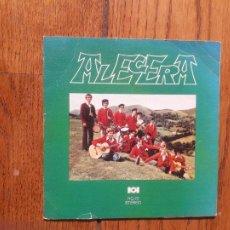 Discos de vinilo: ALEGERA - ENAUT BIDEGORRI + IKUSI MENDIZALEAK + ZIBURUTIK ZARA'S + AITOR' EN HIZKUNTZ ZAHARRA. Lote 218281651