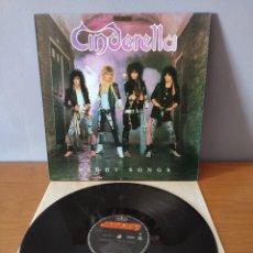 Disques de vinyle: CINDERELLA - NIGHT SONGS. Lote 218283182