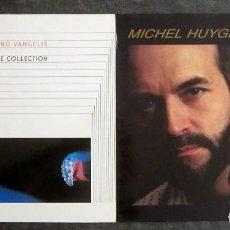 Discos de vinilo: 2 VINILOS NEW AGE - VANGELIS Y MICHEL HUYGEN. Lote 218283743
