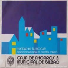 Discos de vinilo: CAJA DE AHORROS MUNICIPAL DE BILBAO.NOCHE DE PAZ + 3 EP ESPAÑA DISCO OBSEQUIO NAVIDAD. Lote 218283945