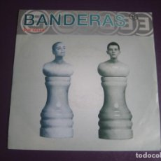 Discos de vinilo: BANDERAS - SHE SELLS - SG LONDON 1991 - ELECTRONICA DANCE HOUSE 90'S - SIN USO. Lote 218284880