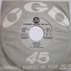 Discos de vinilo: MARISOL SIGNORE CANTA EN ITALIANO EDITADO EN ITALIA PROMOCIONAL Y GIGLIOLA CINQUETTI VER LA FOTO. Lote 218290266