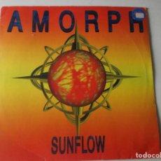 Discos de vinilo: AMORPH – SUNFLOW SELLO: FORMALDEHYD – FORM 012: VINYL, 45 RPM PAÍS: GERMANY. Lote 218291491