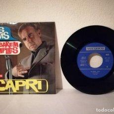 Discos de vinilo: ANTIGUO SINGLE - ELS SAVIS - ACABAREM XIMPLES -CAPRI - JOAN - ED. VERGARA. Lote 218293460