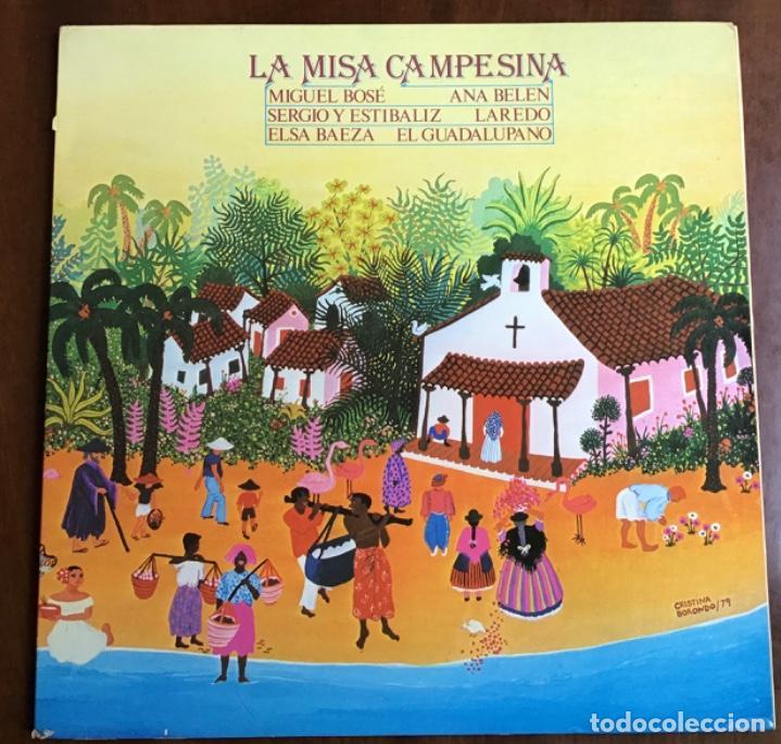 LP LA MISA CAMPESINA (Música - Discos de Vinilo - Maxi Singles - Bandas Sonoras y Actores)