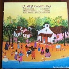 Discos de vinilo: LP LA MISA CAMPESINA. Lote 218297626