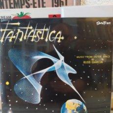 Discos de vinilo: FANTASTICA - MUSIC FROM OUTER SPACE. RUSS GARCÍA AND HIS ORCHESTRA. LP VINILO PRECINTADO. Lote 218302027