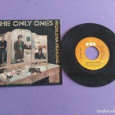 Discos de vinilo: SINGLE PUNK. THE ONLY ONES.PROBLEMA MUNDIAL / LA VIDA QUE..CBS 7983 AÑO 1980.PORTADA UNICA ESPAÑOLA. Lote 218302265