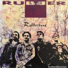 Discos de vinilo: RUBBER – RUBBERBAND LP. Lote 218302581
