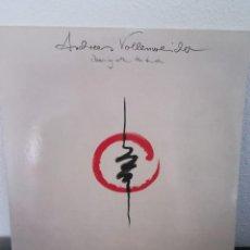 Discos de vinilo: LP ANDREAS VOLLENWEIDER-DANCING WITH THE LION, 1989 SPAIN. Lote 218304090