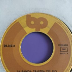 Discos de vinilo: JOYA.LA BANDA TRAPERA DEL RIO. LA REGLA/ LA CLOACA. SINGLE PUNK SIN PORTADA.SELLO BP.06 140 A. SPAIN. Lote 218304692