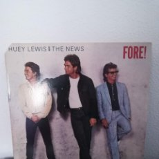 Discos de vinilo: LP HUEY LEWIS AND THE NEWS-FORE!! 1986 EEUU. Lote 218305178