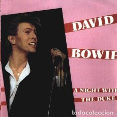 Discos de vinilo: DAVID BOWIE A NIGHT WITH THE DUKE. Lote 218307603