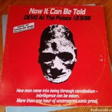 Discos de vinilo: 2 X LP ALBUM , DEVO , NOW IT CAN BE TOLD. Lote 218308443
