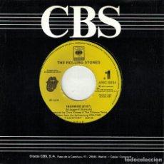 Discos de vinilo: THE ROLLING STONES - HIGHWIRE (SINGLE PROMOCIONAL ESPAÑOL, CBS/SONY 1991). Lote 218310081