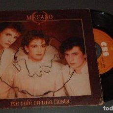 Discos de vinilo: SINGLE EN VINILLO DE LOS MECANO. Lote 218310190