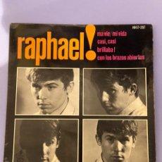 Discos de vinilo: SINGLE RAPHAEL. MA VIE/ MI VIDA. 1964. Lote 218311496