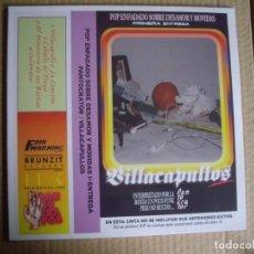 Disques de vinyle: PANTOCRATOR MLP 10'' VILLACAPULLOS... EDICIÓN LIMITADA Y NUMERADA RSD 2020 NUEVO Y PRECINTADO. Lote 218312077