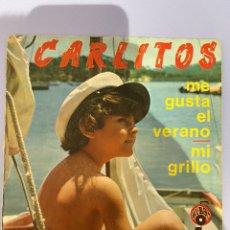 Discos de vinilo: CARLITOS, ME GUSTA EL VERANO. ALBA'S. 1972.. Lote 218312942