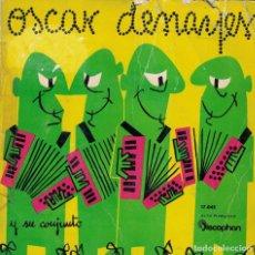 Discos de vinilo: OSCAR DENAYER (ACORDEON Y CONJUNTO) - PEQUEÑA FLOR/UN REFUGIO DE AMOR/VENUS/MANHATTAN SPIRITUAL. Lote 218314057