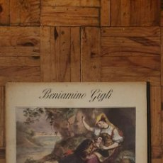 Discos de vinilo: BENIAMINO GIGLI – CHANSONS NAPOLITAINES SELLO: LA VOIX DE SON MAÎTRE – FBLP 1049 FORMATO: VINYL. Lote 218314852