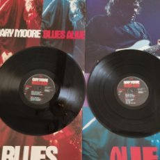 Discos de vinilo: GENIAL DOBLE LP. GARY MOORE ?– BLUES ALIVE BLUES ALIVE. LIMITED EDITION, NUMBERED) 1993.MAS POSTER.. Lote 218316758