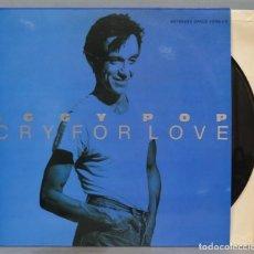 Discos de vinilo: LP. IGGY POP. CRY FOR LOVE. Lote 218318182