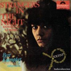 Discos de vinilo: BERT KAEMPFERT - EXTRAÑOS EN LA NOCHE/BUT NOT TODAY/BYE BYE BLUES/LET'S GO BOWLING. Lote 218319625
