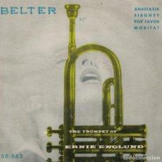 Discos de vinilo: ERNIE ENGLUND - ANASTASIA / SIBONEY / POR FAVOR / MORITAT (EP ESPAÑOL, BELTER 1959). Lote 218320213