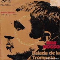 Disques de vinyle: NINI ROSSO - BALADA DE LA TROMPETA / EL SILENCIO (SINGLE ESPAÑOL, DURIUM 1971). Lote 218321075